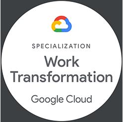 田中系統獲得Google Cloud Partner工作模式轉型認證,所使用的會議空間與設備皆有一定的水準