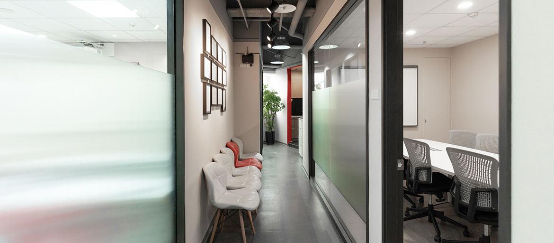 信義區會議室出租-大會議室外觀,皆採獨立隔音空間