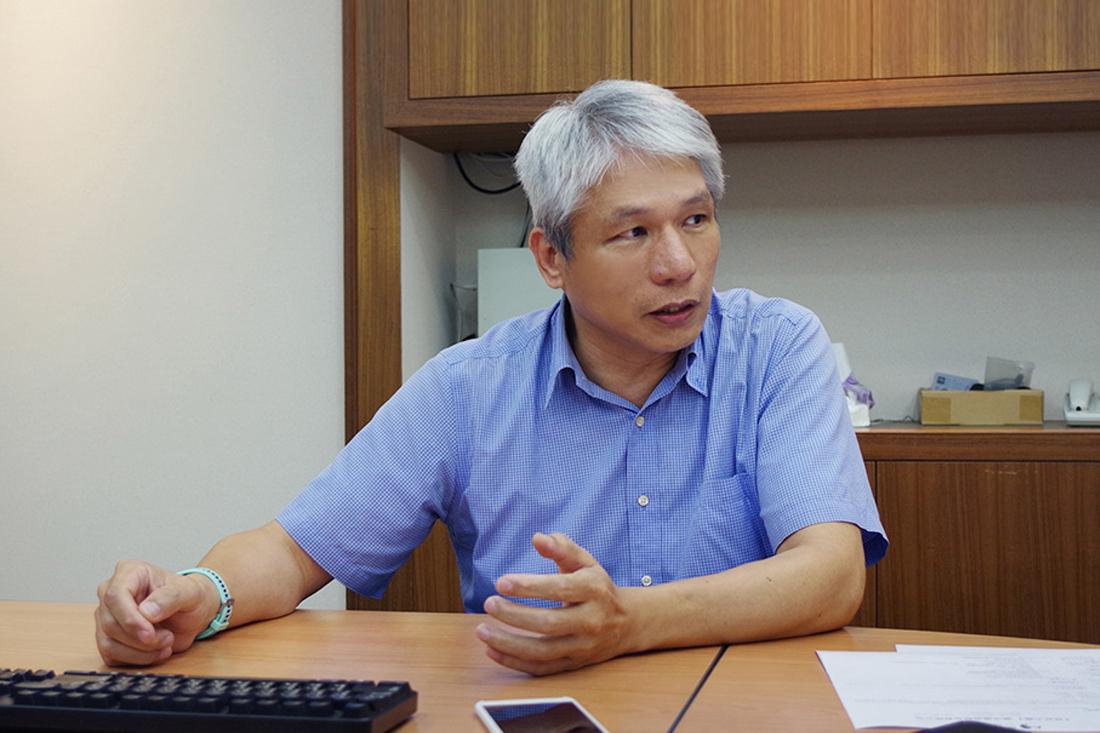 照片為國洋通信陳先生分享垃圾信件問題