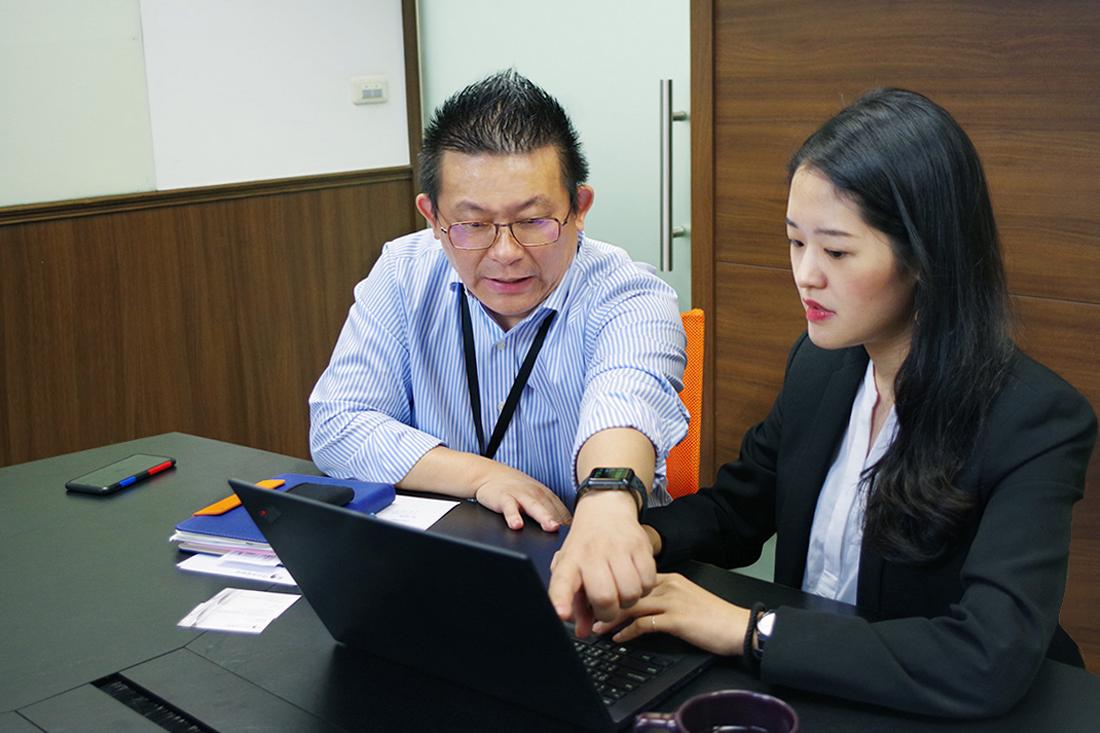 照片為品元實業 黃先生分享Google雲端硬碟使用狀況