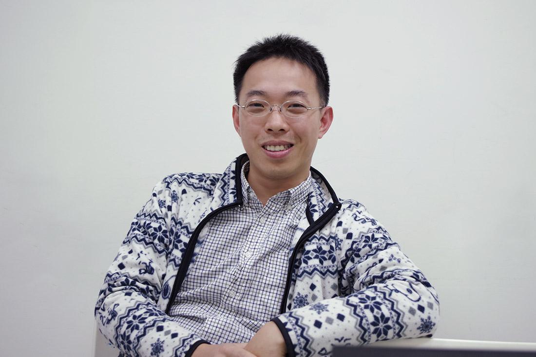 照片為台灣文創李先生分享於田中系統參與教育訓練過程