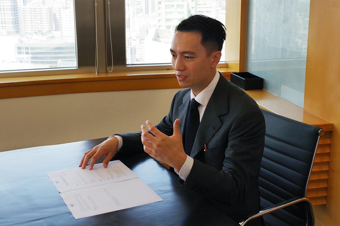 照片為麗晶建設王先生分享使用G Suite Business的原因