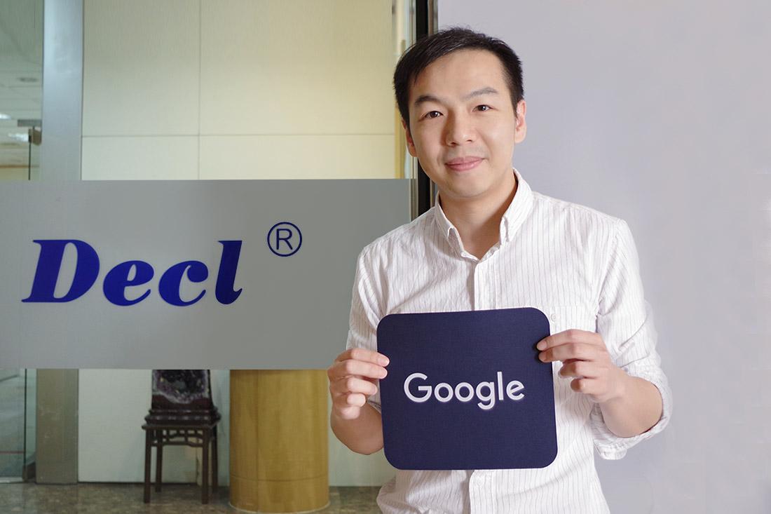 典璋實業全球市場負責人江先生,分享G Suite的雲端協作工具,使員工改善了50%的工作流程!