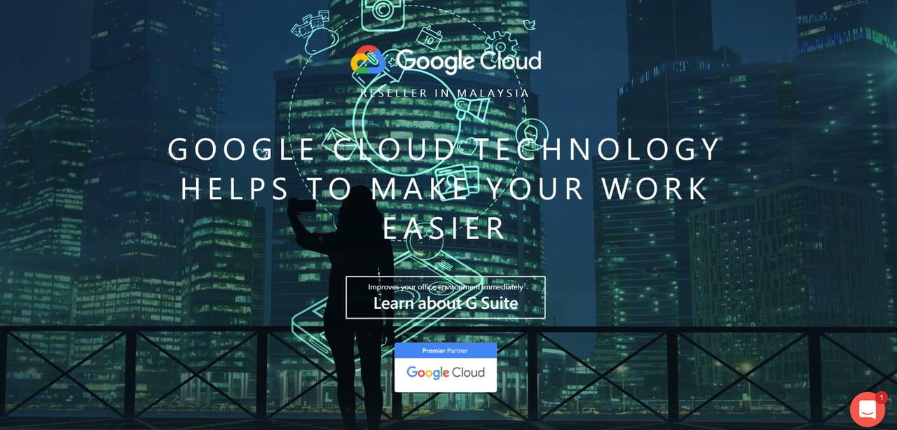 TS Cloud Malaysia 網站